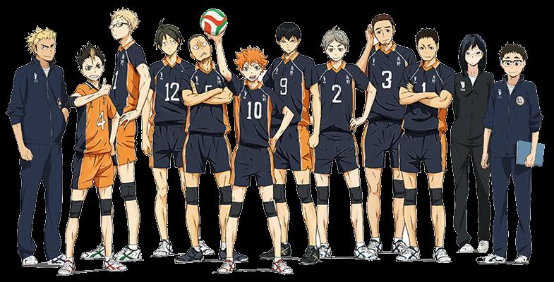 Karasuno_Team